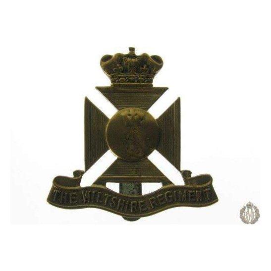 """1B/002 - Royal East Kent """"The Buffs"""" Regiment Cap Badge"""