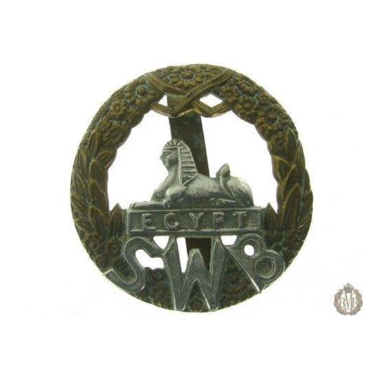 1C/003 - South Wales Borderers SWB Regiment Cap Badge