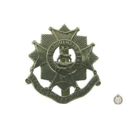 1C/008 - Bedfordshire & Hertfordshire Regiment Cap Badge