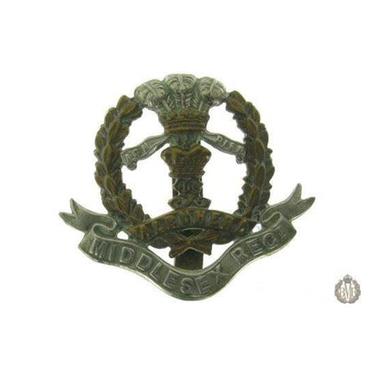 "1C/009 - The Middlesex Regiment Cap Badge - ""Albuhera"""