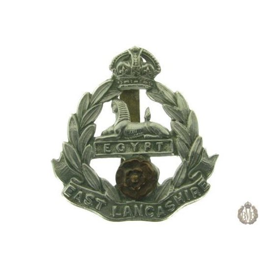 1C/011 - The East Lancashire Regiment Cap Badge