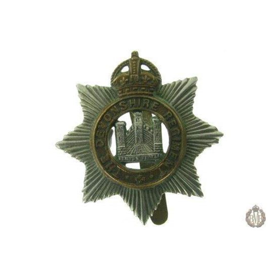 1C/015 - The Devonshire / Devon Regiment Cap Badge