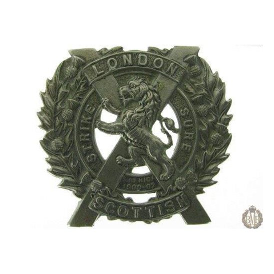 1C/016 - The London Scottish Regiment Cap Badge