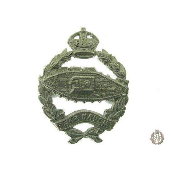1C/026 - Royal Tank Regiment / Corps Cap Badge
