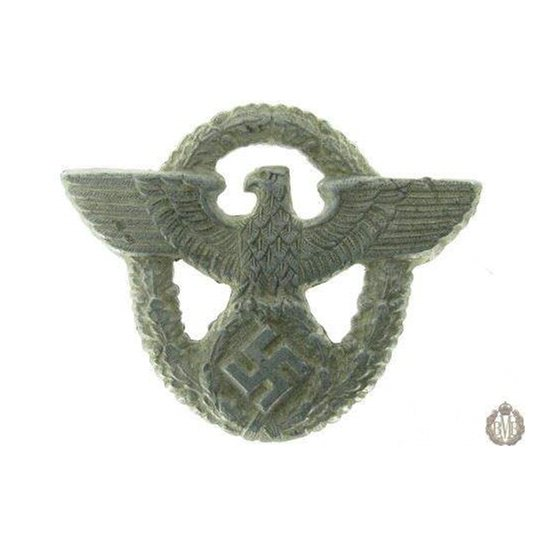 1C/032 - UNKNOWN WW2 German Nazi Award / Cap Badge