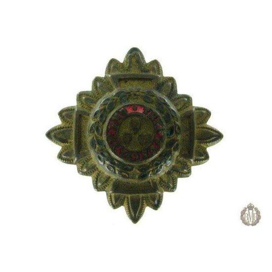 1C/036 - Officers Crown Epaulette Insignia Rank Pip