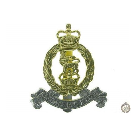 1C/041 - Royal Army Pay Corps RAPC Staybright Cap Badge