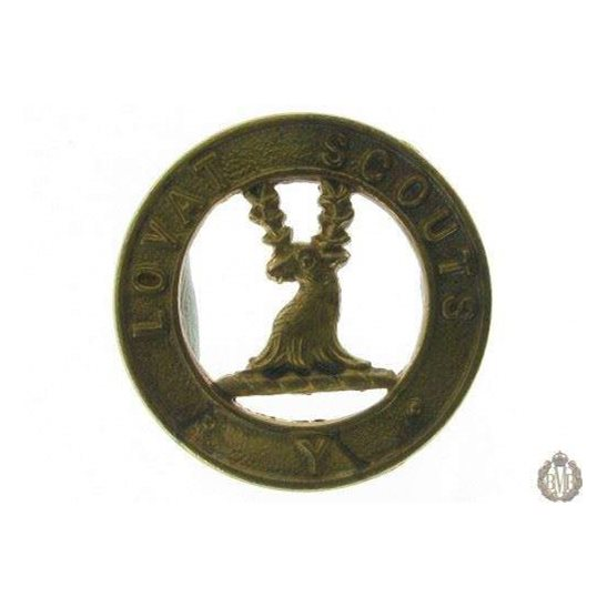 1D/013 - The Lovat Scouts Yeomanry Regiment Collar Badge