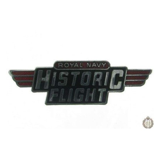 1D/016 - Royal Navy Historic Flight Lapel Badge - Naval