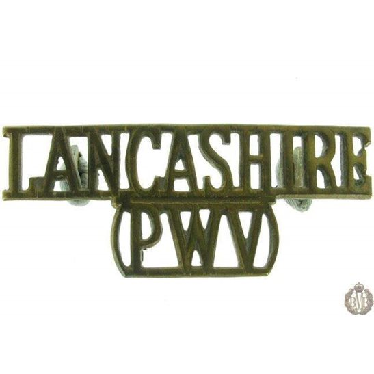 1F/005 - Lancashire Regiment PWV Shoulder Title