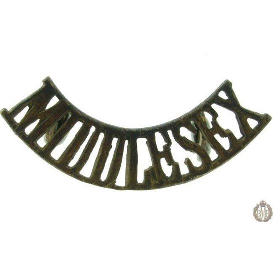 1F/006 - The Middlesex Regiment Shoulder Title