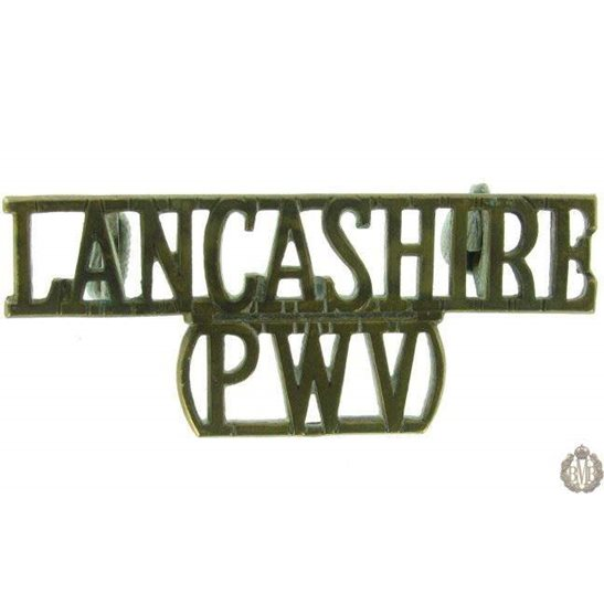 1F/016 - Lancashire Regiment PWV Shoulder Title