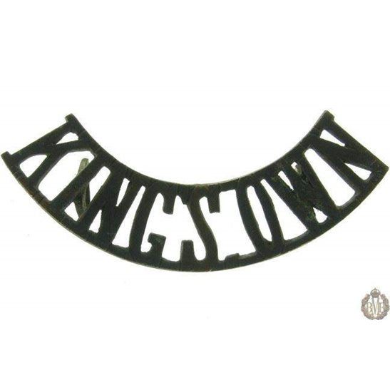 1F/017 - King's Own Regiment Kings Shoulder Title