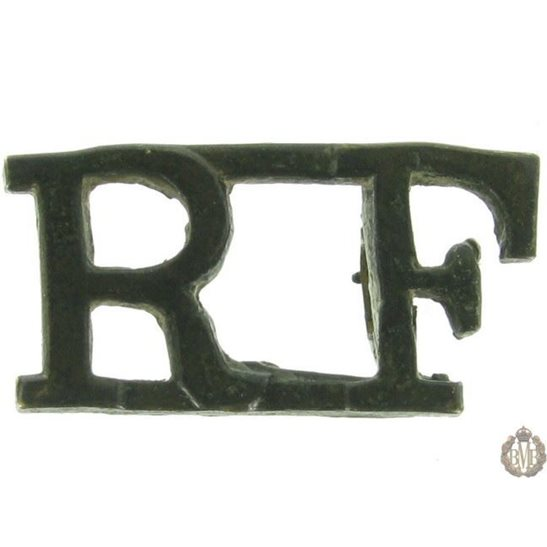 1F/019 - Royal London Fusiliers Regiment RF Shoulder Title