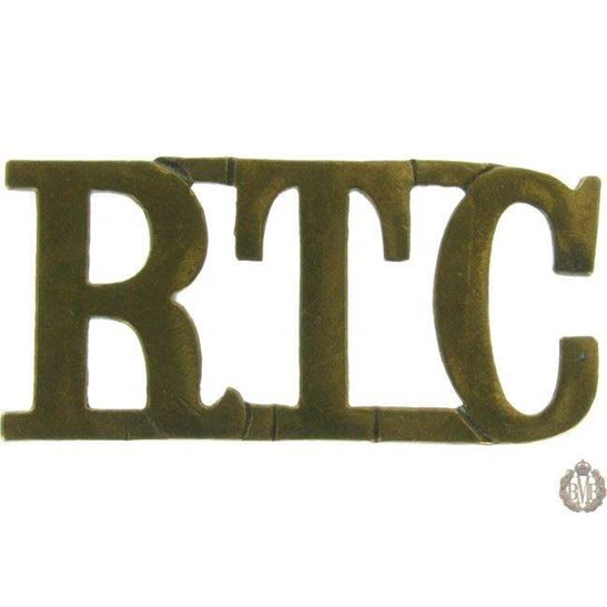 1F/020 - Royal Tank Corps RTC Shoulder Title