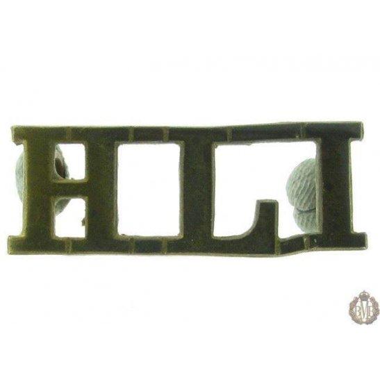 1F/040 - Highland Light Infantry Regiment HLI Shoulder Title