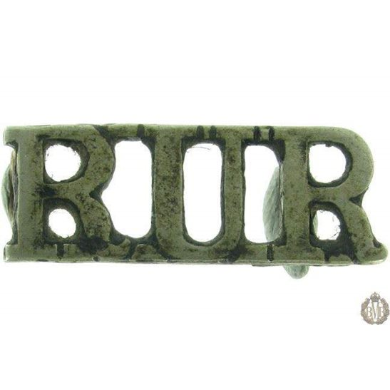 1F/043 - Royal Ulster Rifles Regiment RUR Shoulder Title