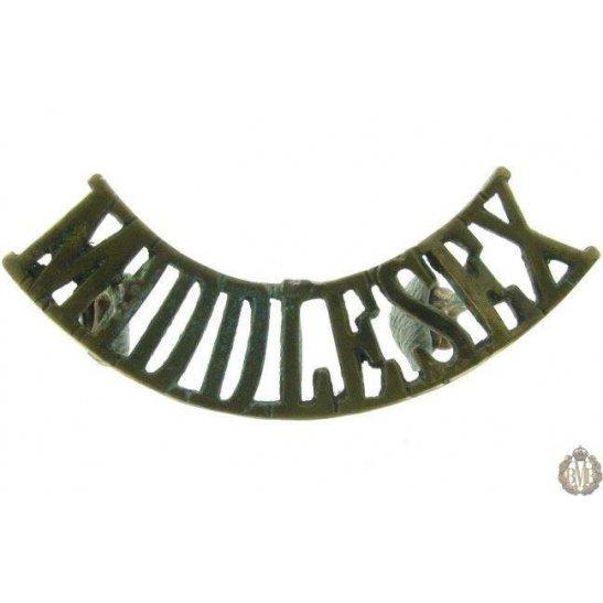 1F/047 - The Middlesex Regiment Shoulder Title