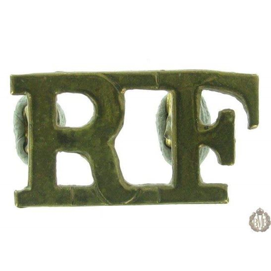 1F/051 - Royal London Fusiliers Regiment RF Shoulder Title