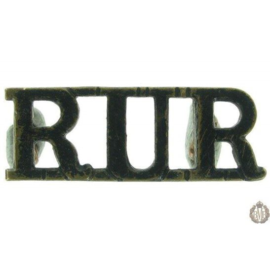 1F/058 - Royal Ulster Rifles Regiment RUR Shoulder Title