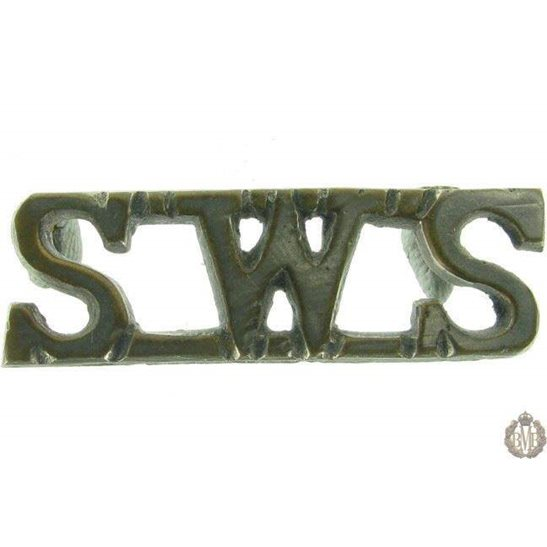 1F/069 - South Waziristan Scouts Regiment SWS Shoulder Title