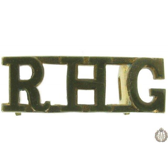 1F/086 - Royal Horse Guards Regiment RHG Shoulder Title