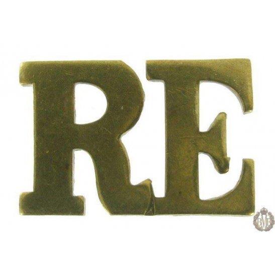 1F/088 - Royal Engineers RE Shoulder Title