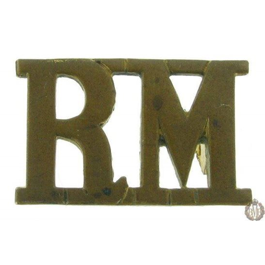 1F/093 - Royal Marines RM Shoulder Title