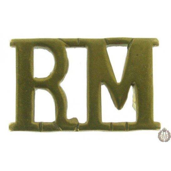 1F/094 - Royal Marines RM Shoulder Title