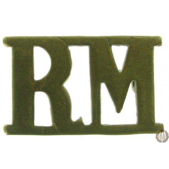 1F/101 - Royal Marines RM Shoulder Title