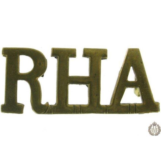 1F/105 - Royal Horse Artillery RHA Shoulder Title