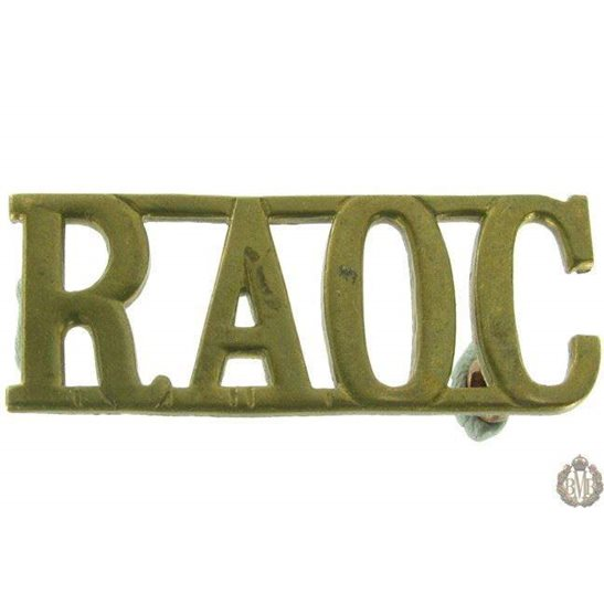 1F/111 - Royal Army Ordnance Corps RAOC Shoulder Title