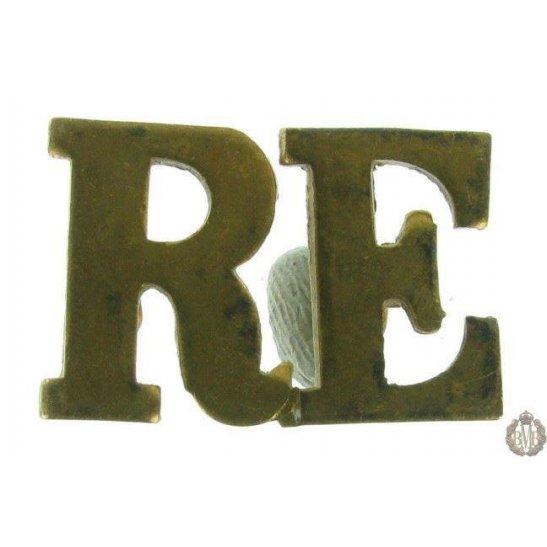 1F/124 - Royal Engineers RE Shoulder Title