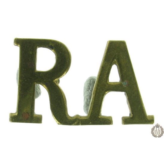 1F/138 - Royal Artillery RA Shoulder Title