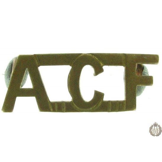 1F/146 - Army Cadet Force ACF Shoulder Title