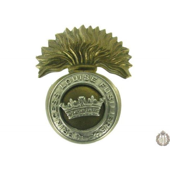 1G/005 - Princess Louise Fusiliers Canadian Regiment Cap Badge