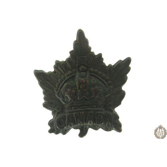 1G/010 - Canadian Division / Canada Corps Cap Badge