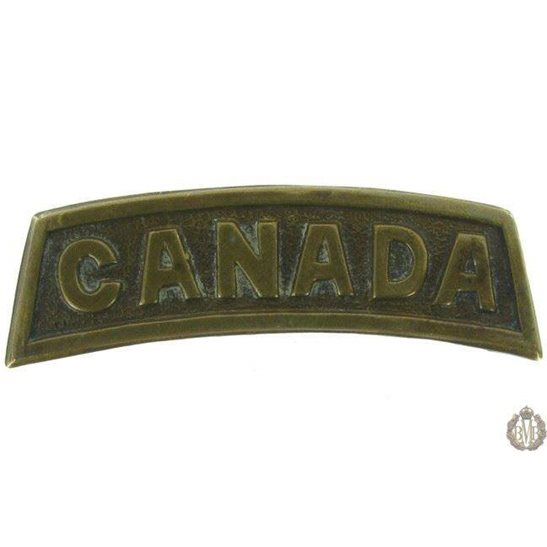 1G/011 - Canadian Division / Canada Corps Shoulder Title
