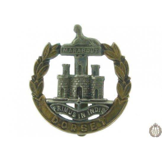 1I/003 - Dorsetshire Regiment Cap Badge - Dorset