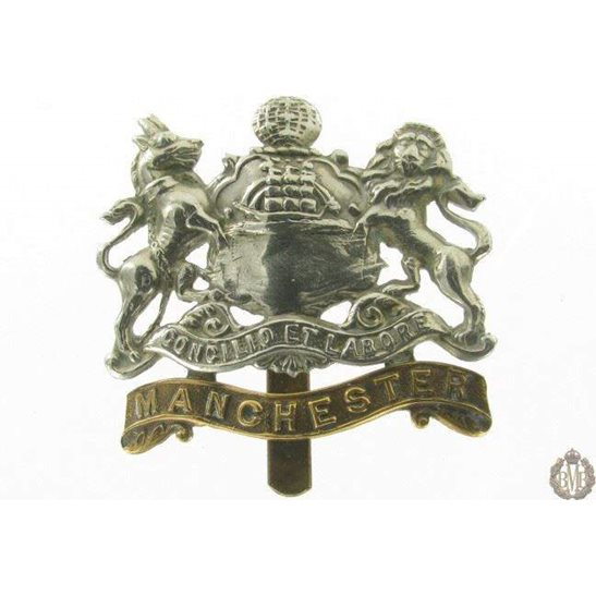 1I/006 - The Manchester Regiment Cap Badge