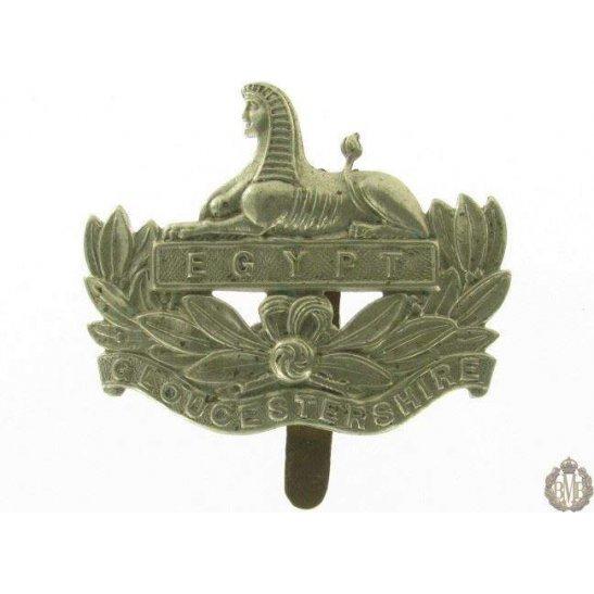 1I/010 - The Gloucestershire Regiment Cap Badge - Gloucester