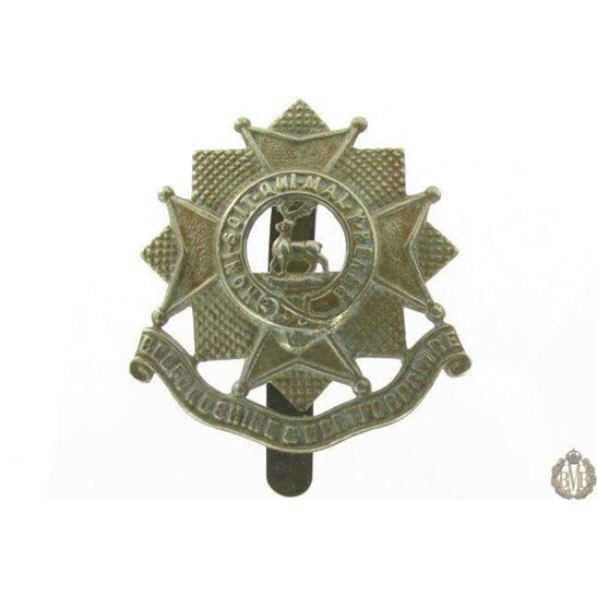 1I/017 - Bedfordshire & Hertfordshire Regiment Cap Badge