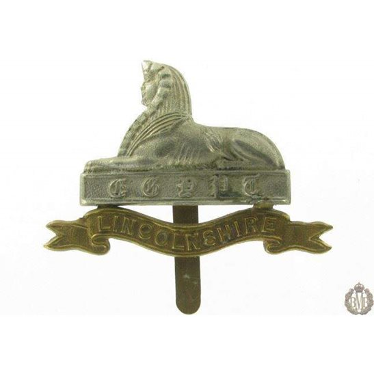 1I/020 - Lincolnshire Regiment Cap Badge - Lincoln