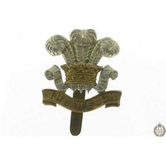 1I/024 - The Welch Regiment Cap Badge - Welsh