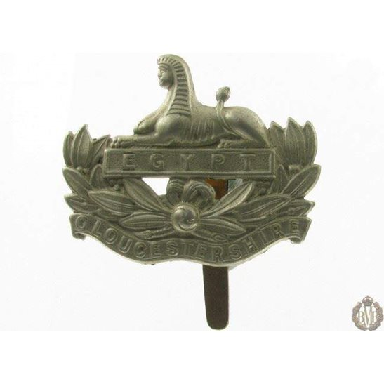 1I/026 - The Gloucestershire Regiment Cap Badge - Gloucester