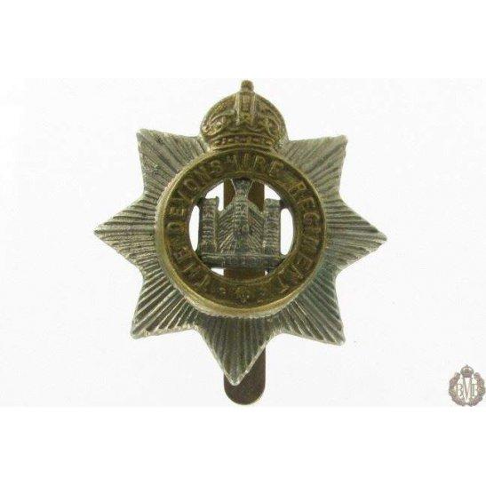 1I/027 - The Devonshire / Devon Regiment Cap Badge