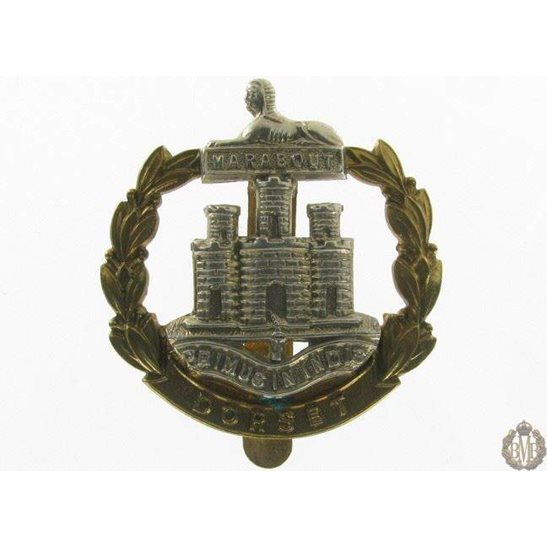 1I/054 - Dorsetshire Regiment Cap Badge - Dorset