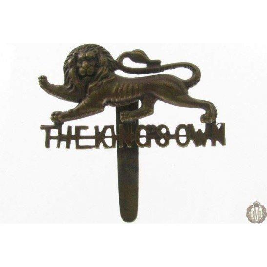 1I/069 - The King's Own Regiment Cap Badge - Kings