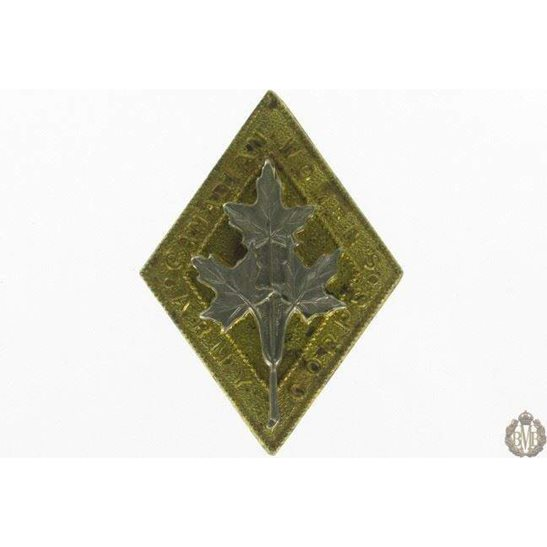 1I/072 - Canadian Womens Army Corps CWAC Cap Badge