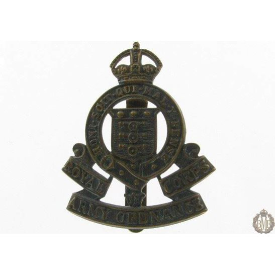 1I/076 - Royal Army Ordnance Corps RAOC Cap Badge